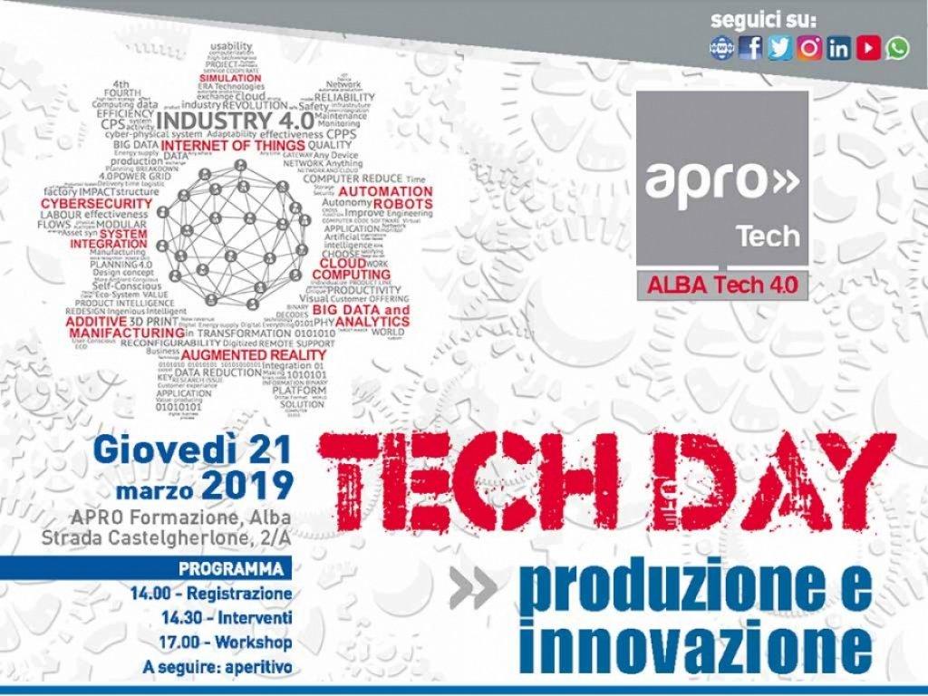 TECH DAY #3: Produzione e Innovazione