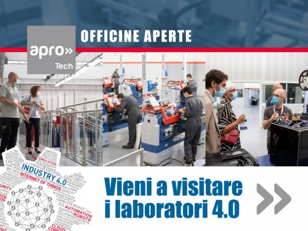OFFICINE APERTE : VISITA I LABORATORI TECH 4.0